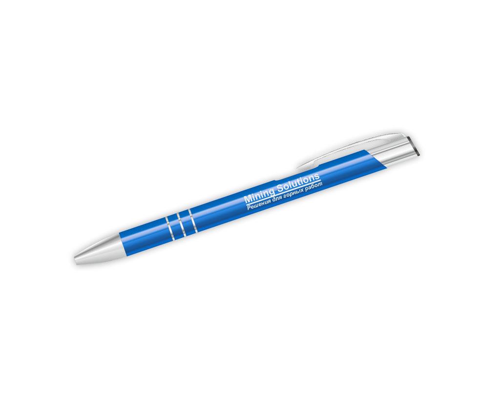 Металическая ручка (гравировка) Mining Solutions 2015